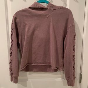 Marc New York, Dirty Pink Crop Sweater